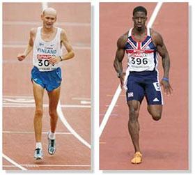 марафонец и спринтер