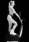 тренировка на эллиптическом тренажёре