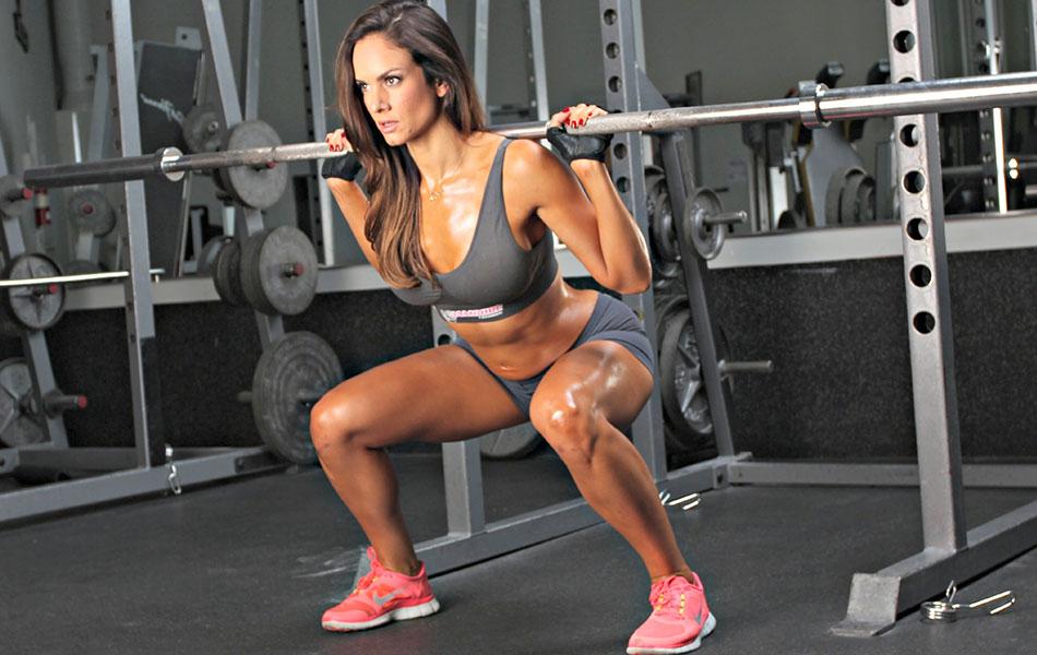 Комплекс упражнений для ног и ягодиц