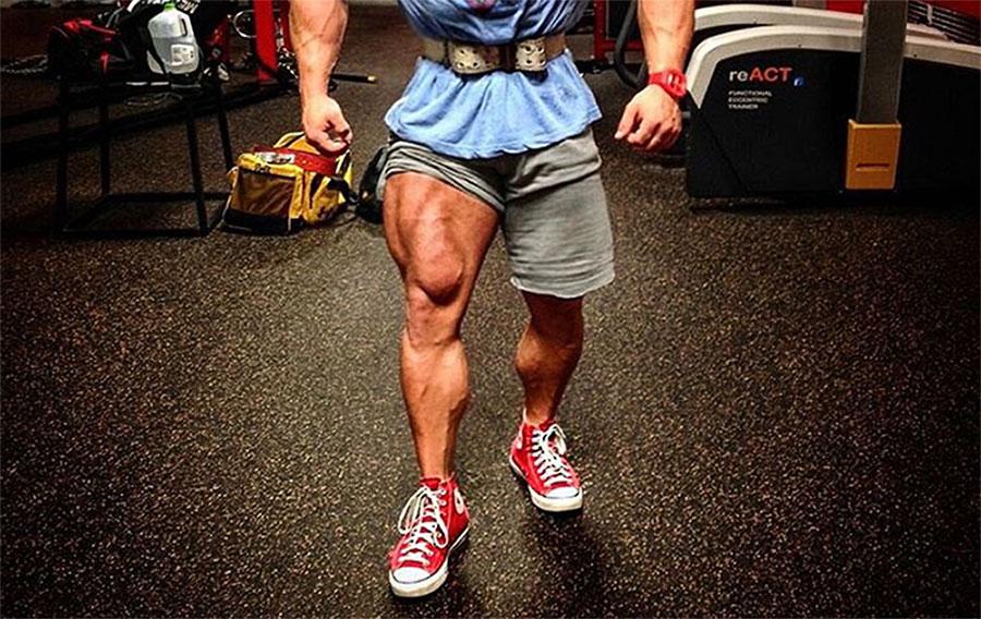 Тренировка мышц ног на массу