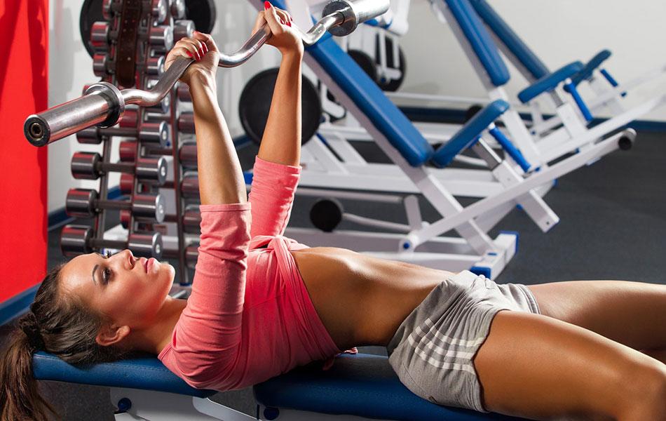 Мышцы груди - упражнения для девушек