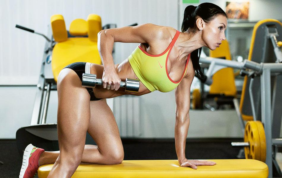 упражнения для спины для девушек