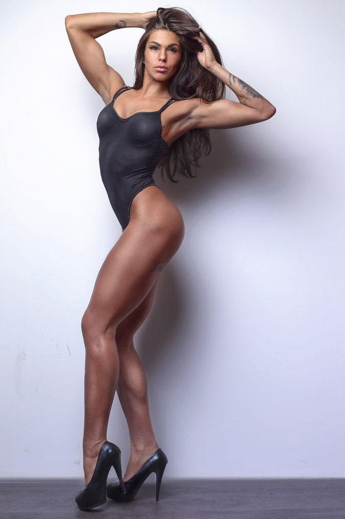 Алёна Доманская фитнес бикини