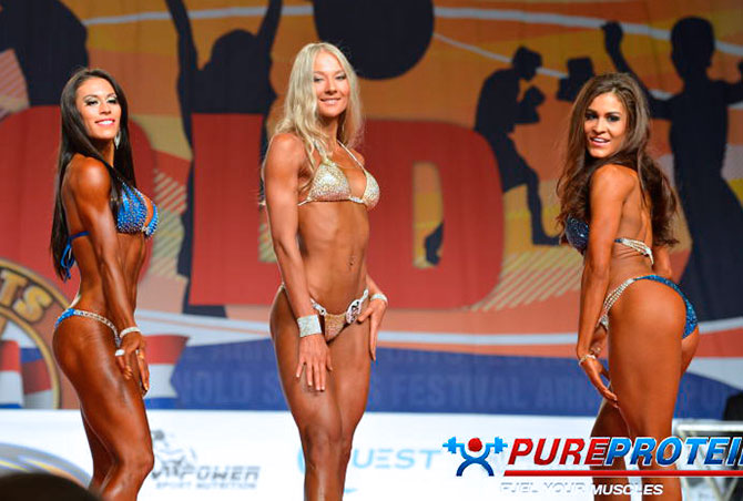 Анна Киселева фитнес бикини