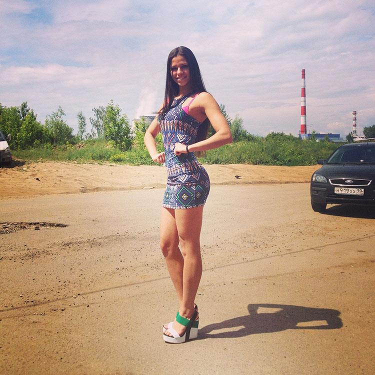 Диана Волкова фитнес бикини
