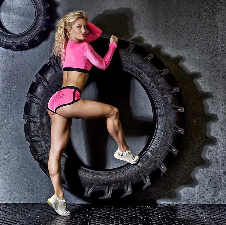 Екатерина Лаптева фитнес бикини