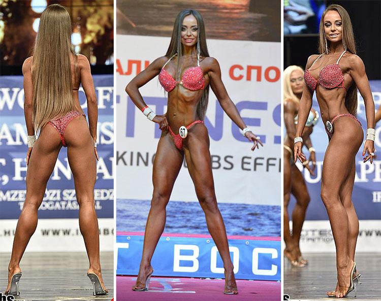 Екатерина Шохина фитнес бикини