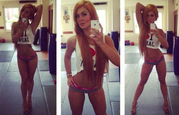 фото фитнес бикини Мария Цкирия Докучаева