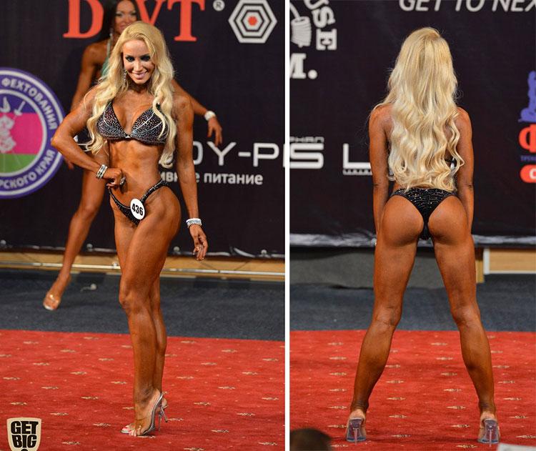 Екатерина Красавина фитнес бикини