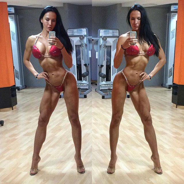 Ксения Шевелёва фитнес бикини