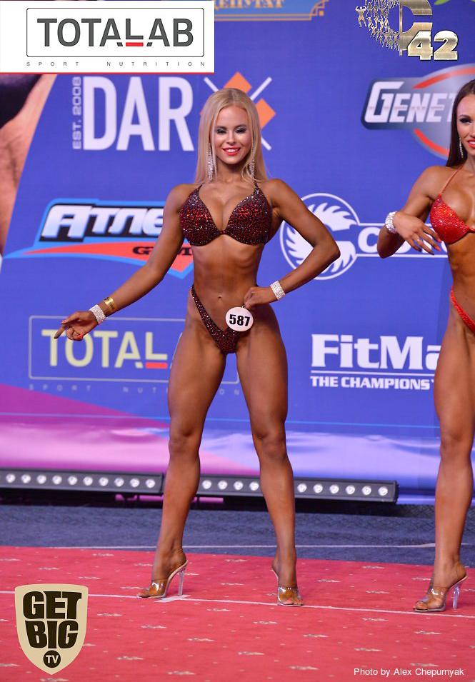 Анастасия Золотаях - абсолютная чемпионка фитнес-бикини. Кубок России 2017