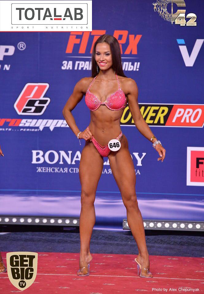 Елизавета Мукминова - абсолютная чемпионка фитнес-бикини. Кубок России 2017