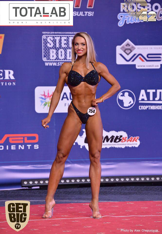 Натали Луговских - абсолютная чемпионка фитнес-бикини. Кубок России 2017
