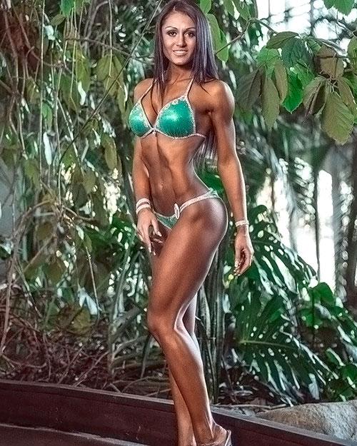 Лиана Мороз фитнес бикини