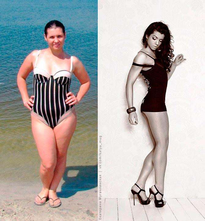 Марика Матесович до и после