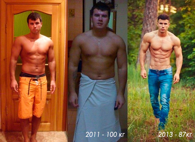 Михаил Журавель до и после
