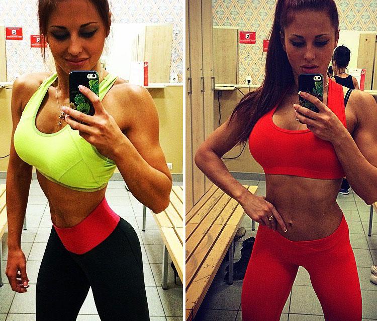 Ольга Блохина фитнес бикини