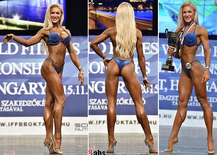Ольга Путрова Абсолютная чемпионка мира 2015 фитнес-бикини