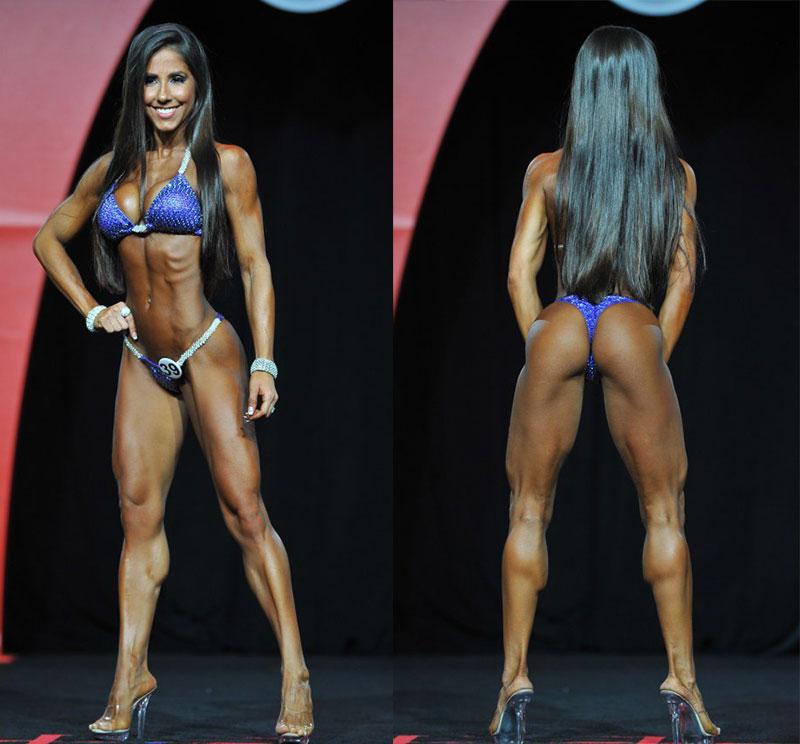 Мисс фитнес-бикини Олимпия 2016 Анжелика Тейксейра