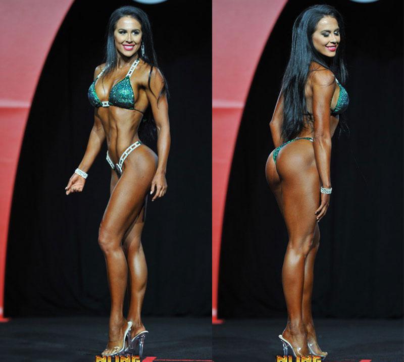 Мисс фитнес-бикини Олимпия 2016 Эшли Кальтвассер