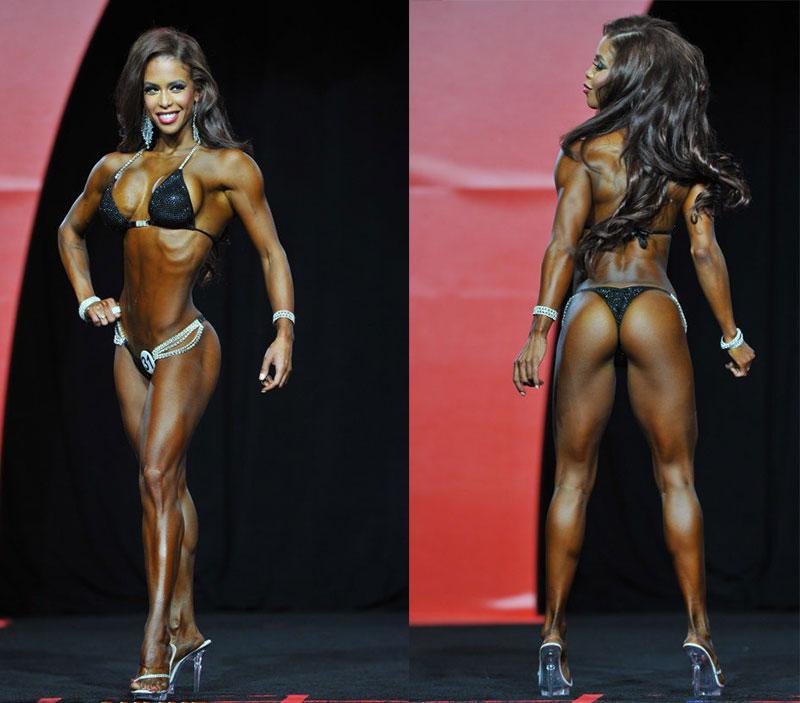Мисс фитнес-бикини Олимпия 2016 Индия Паулино
