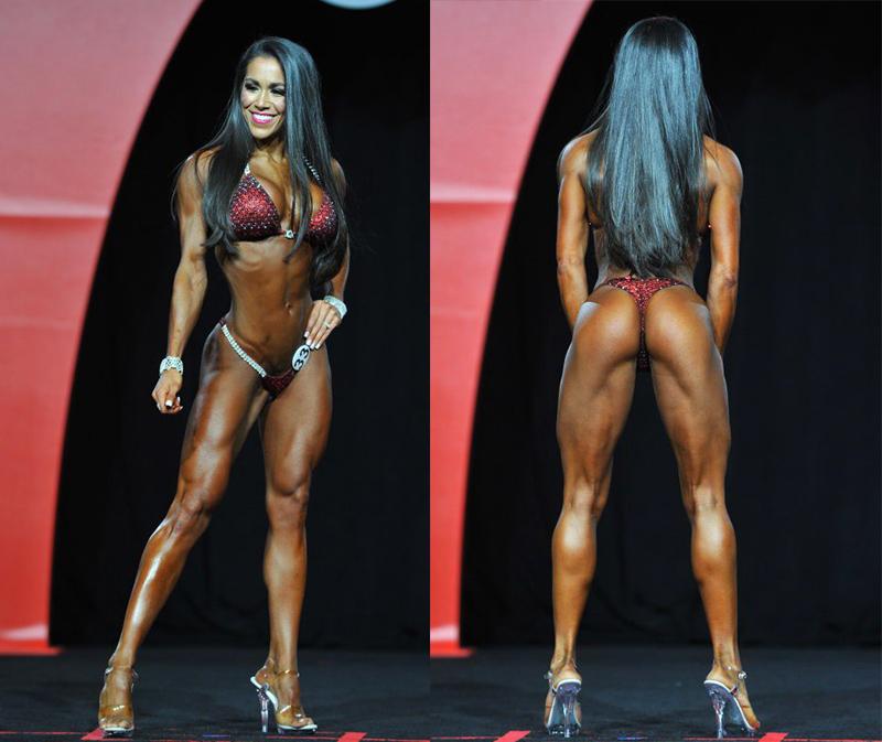Мисс фитнес-бикини Олимпия 2016 Дженнифер Ронзитти