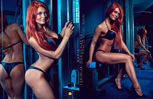 фото фитнес бикини Мария Цкирия-Докучаева