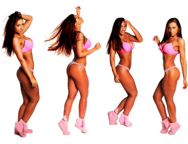 Ульяна Гросс фитнес бикини