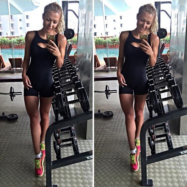 Екатерина Усманова фитнес бикини