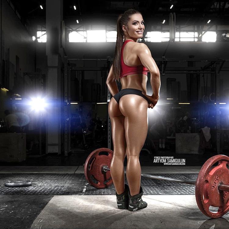 Юлия Землянкина фитнес бикини
