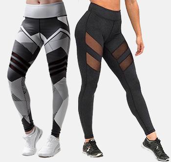 леггинсы для фитнеса для девушек