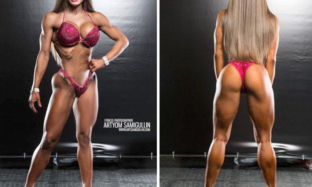 Юлия Землянкина — фитнес-бикини