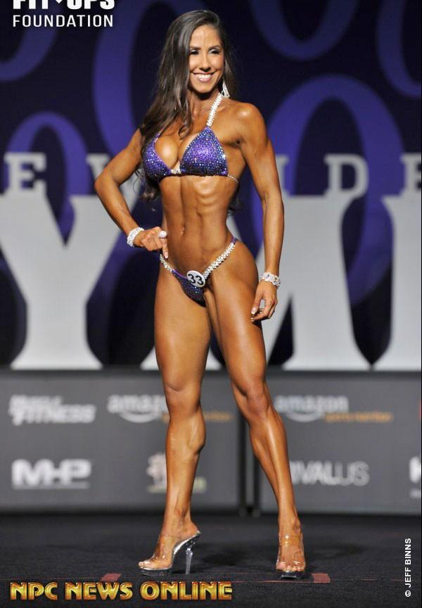 Angelica Teixeira фитнес бикини Олимпия 2017