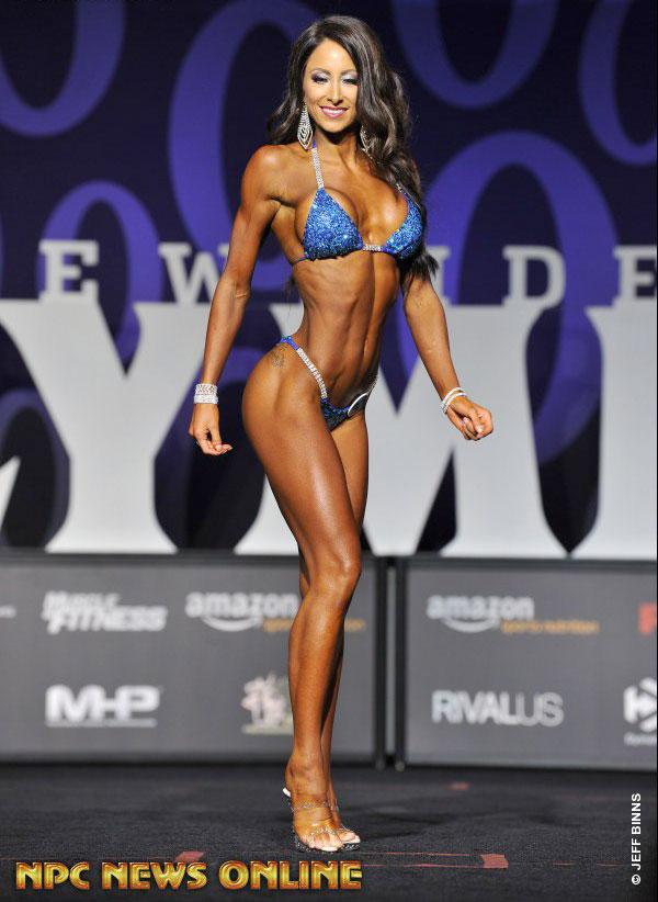 Casey Samsel фитнес бикини Олимпия 2017
