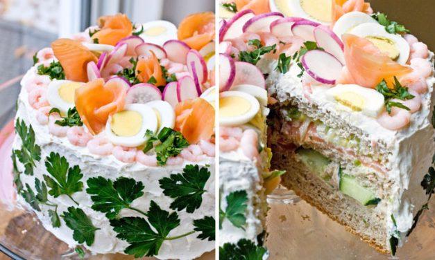 Сэндвич-торт (рецепт с фото и видео)