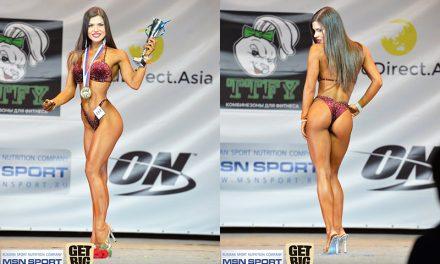 Александра Реброва фитнес-бикини