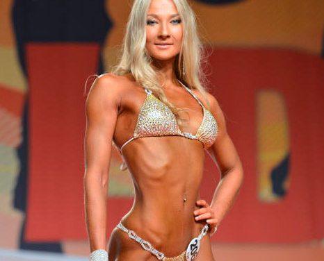 Анна Киселева — фитнес-бикини