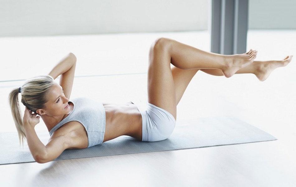 Лучшие упражнения для мышц пресса в домашних условиях для девушек