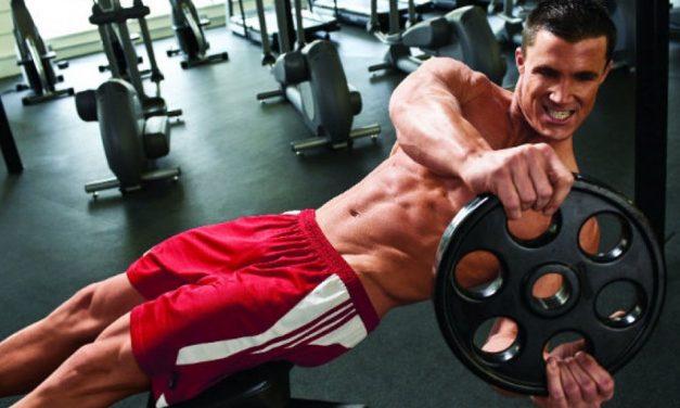 Эффективные упражнения на мышцы пресса для мужчин