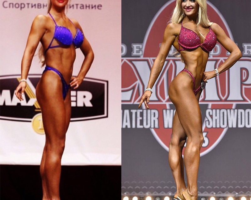 Екатерина Лаптева — фитнес-бикини