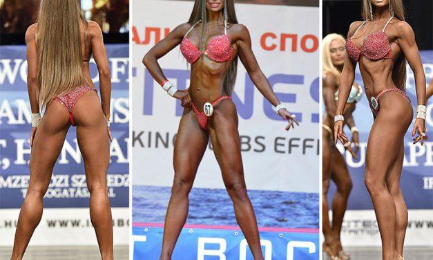 Екатерина Шохина фитнес-бикини