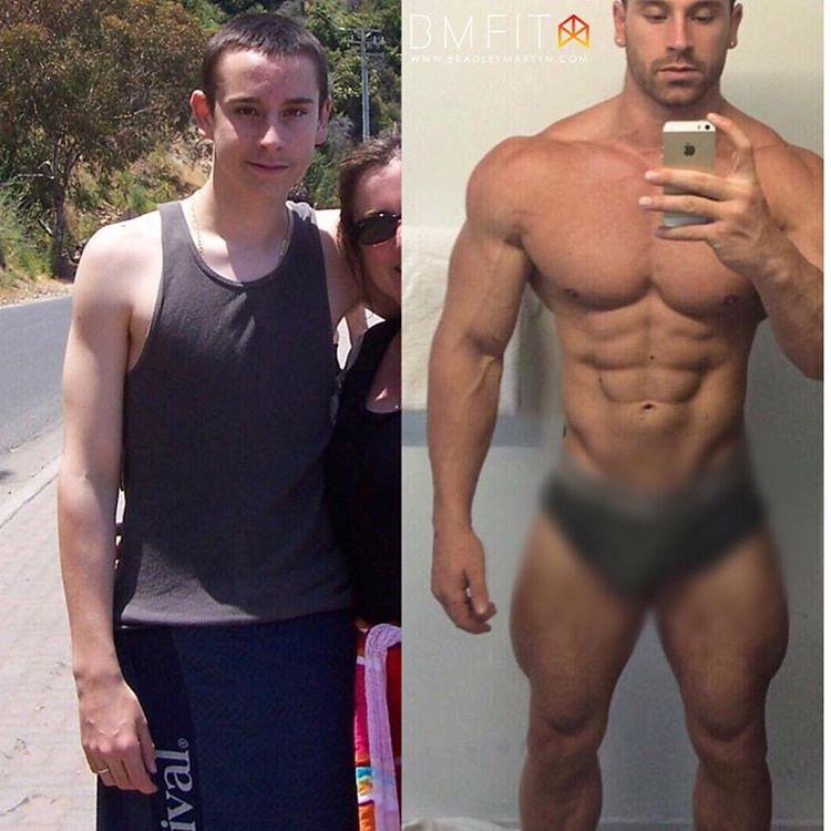 фото до и после бодибилдинг