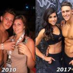 Фото «до и после» похудения или набора мышц