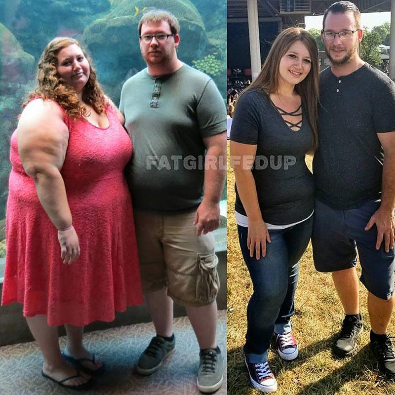 фото до и после похудевших