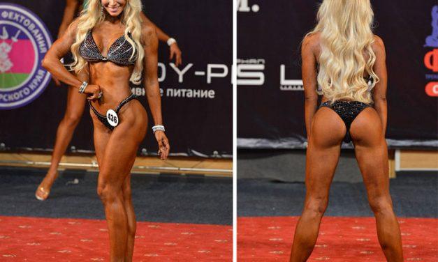 Екатерина Красавина — фитнес бикини