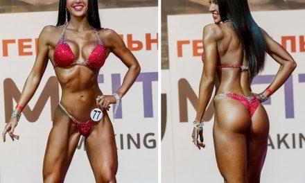 Ксения Шевелёва — фитнес-бикини