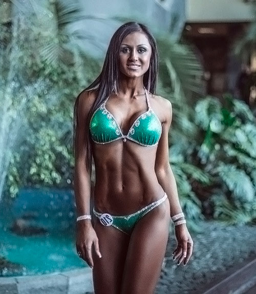 Лиана Мороз — фитнес-бикини