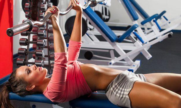 Мышцы груди — упражнения для девушек