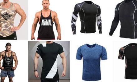Мужские футболки для фитнеса