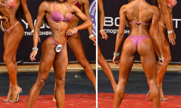 Елизавета Мукминова — фитнес бикини
